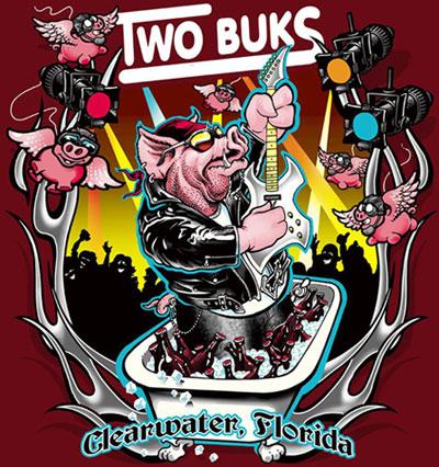 TWO BUKS - The Rockingest Bar in Pinellas